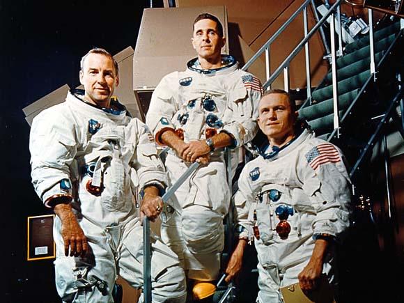 アポロ8号の乗組員