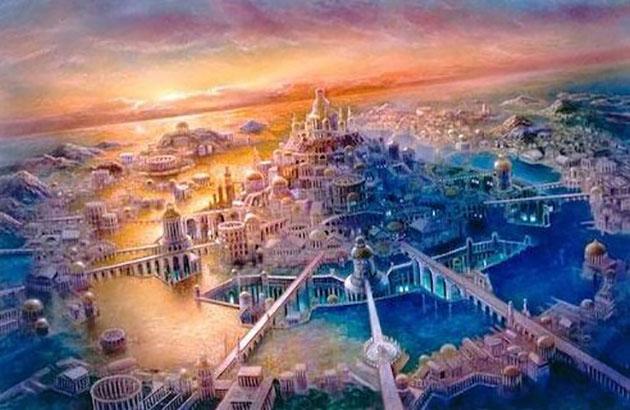 伝説の超古代文明「アトランティス」