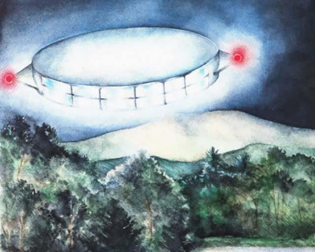 UFOの想像図