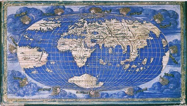 フランチェスコ・ロザエリの地図