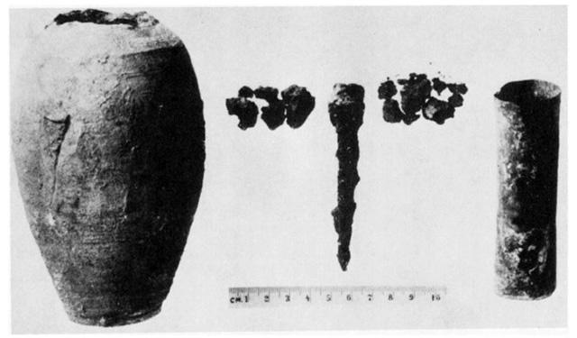 発掘されたバグダッドの電池