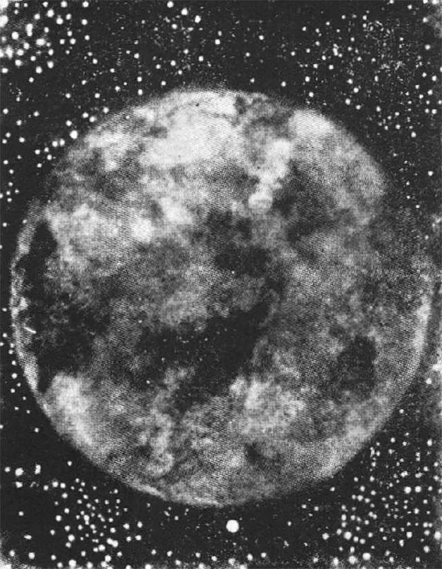 月の裏側の念写像